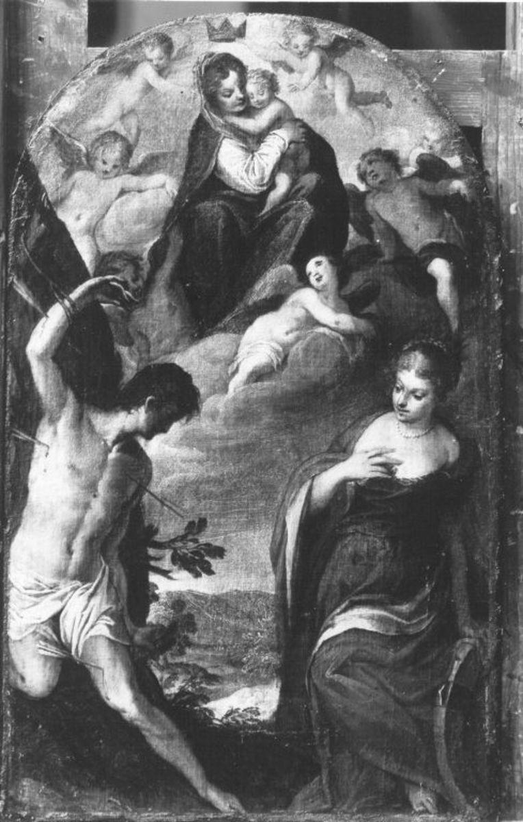 Maria mit Kind und den hll. Sebastian und Katharina