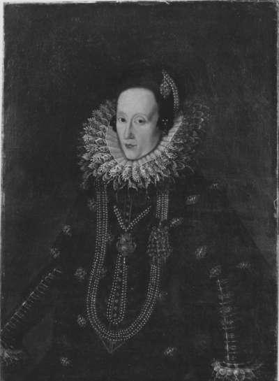 Bildnis der Magdalena von Bayern, Pfalzgräfin von Neuburg, Gemahlin Wolfgang Wilhelms von Pfalz-Neuburg (1587-1628)