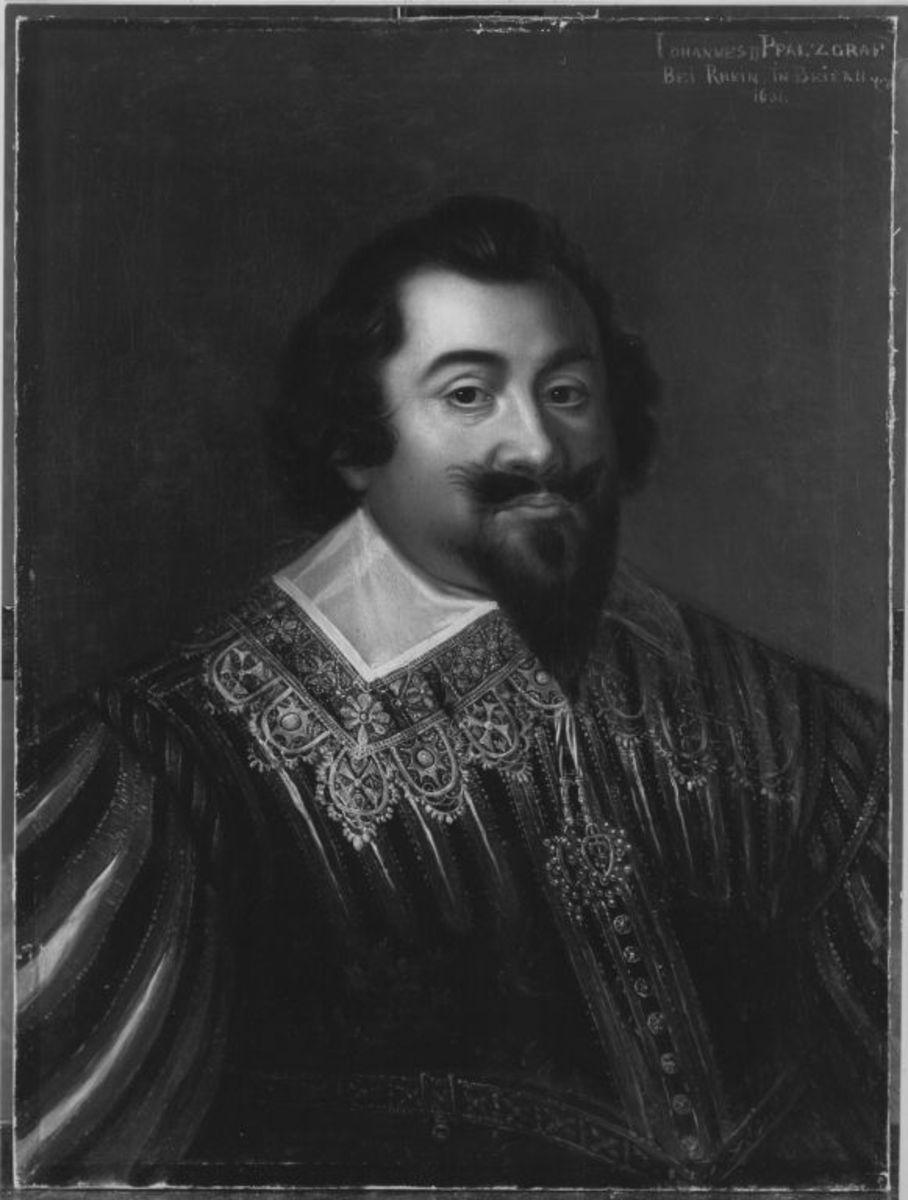 Johann II. (geb. 1584, reg. 1604-1635), Pfalzgraf bei Rhein, Herzog von Zweibrücken