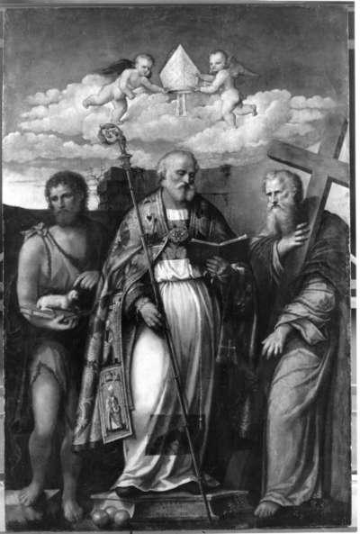 Hl. Nikolaus von Bari, Johannes d. T. und Philippus