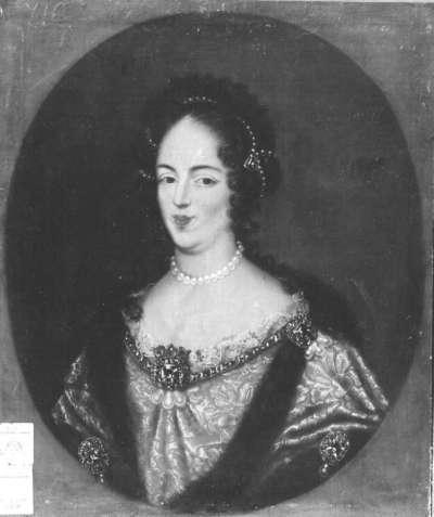 Bildnis der Maria Casimira, Gemahlin des Königs Johann III. Sobieski von Polen