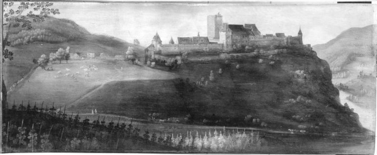 Ansicht von Schloss Beckeheim