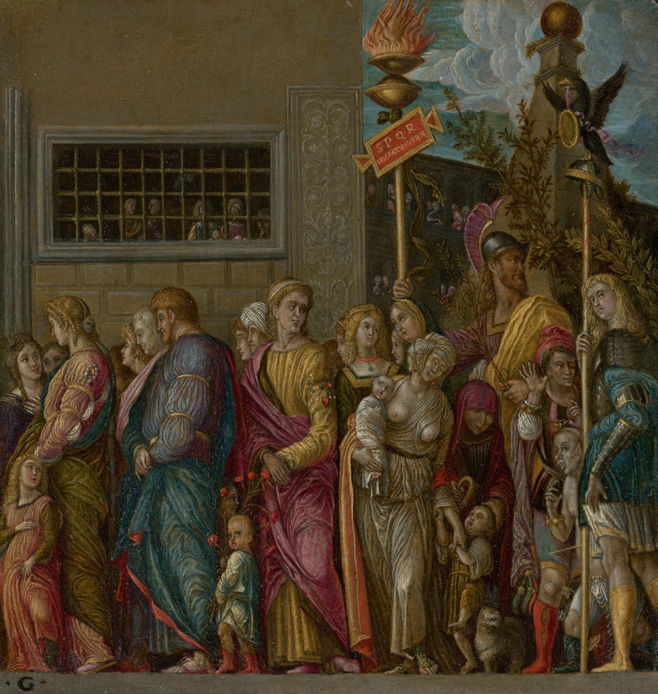Cäsars Triumphzug IV (Kopie nach Mantegna)