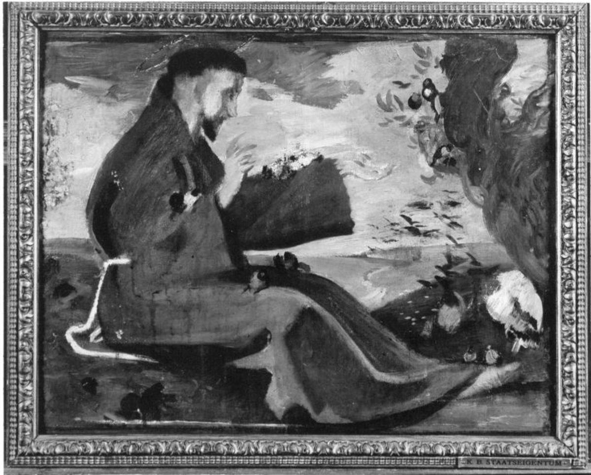 Der hl. Antonius predigt den Vögeln