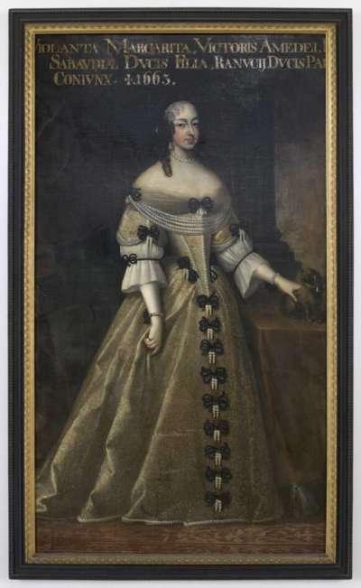 Violanta Margarita von Savoyen (1635-63), Gemahlin Ranuccios II. Farnese, Herzog von Parma