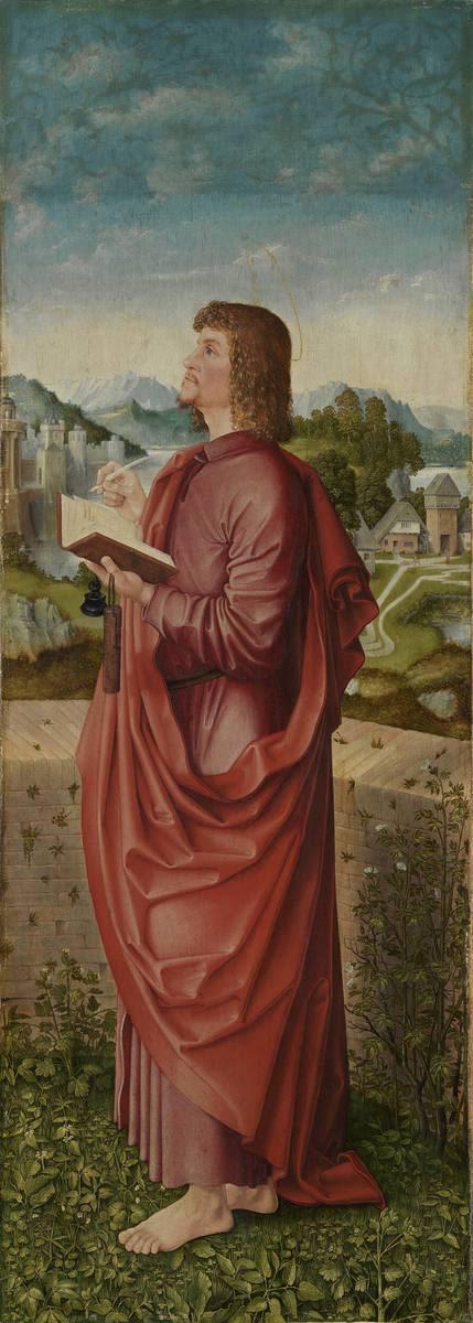 """""""Universitätsaltar"""": Hl. Johannes Ev. Rückseite: Hl. Margaretha"""