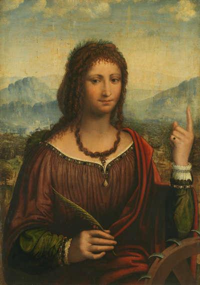 Die hl. Katharina
