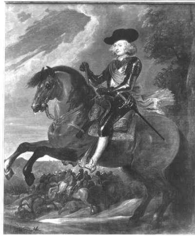 Erzherzog Ferdinand zu Pferd