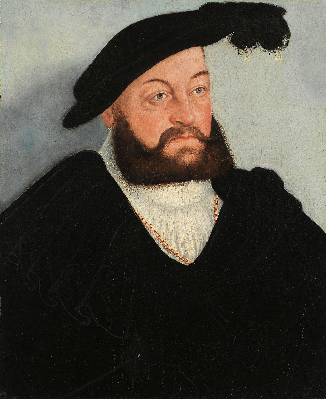 Bildnis Herzog Johanns von Sachsen