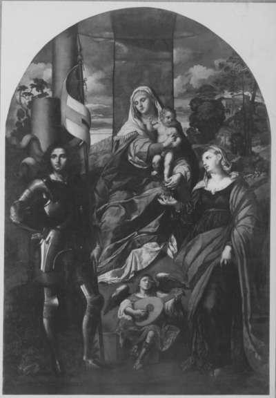 Madonna mit Heiligen (nach Palma Vecchio)