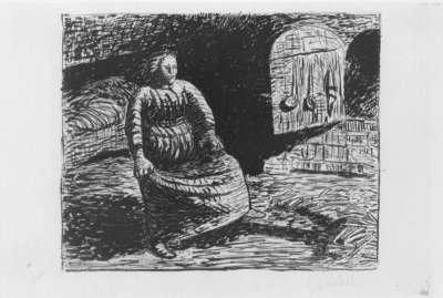 Der Tote Tag (Die Frau am Herde)