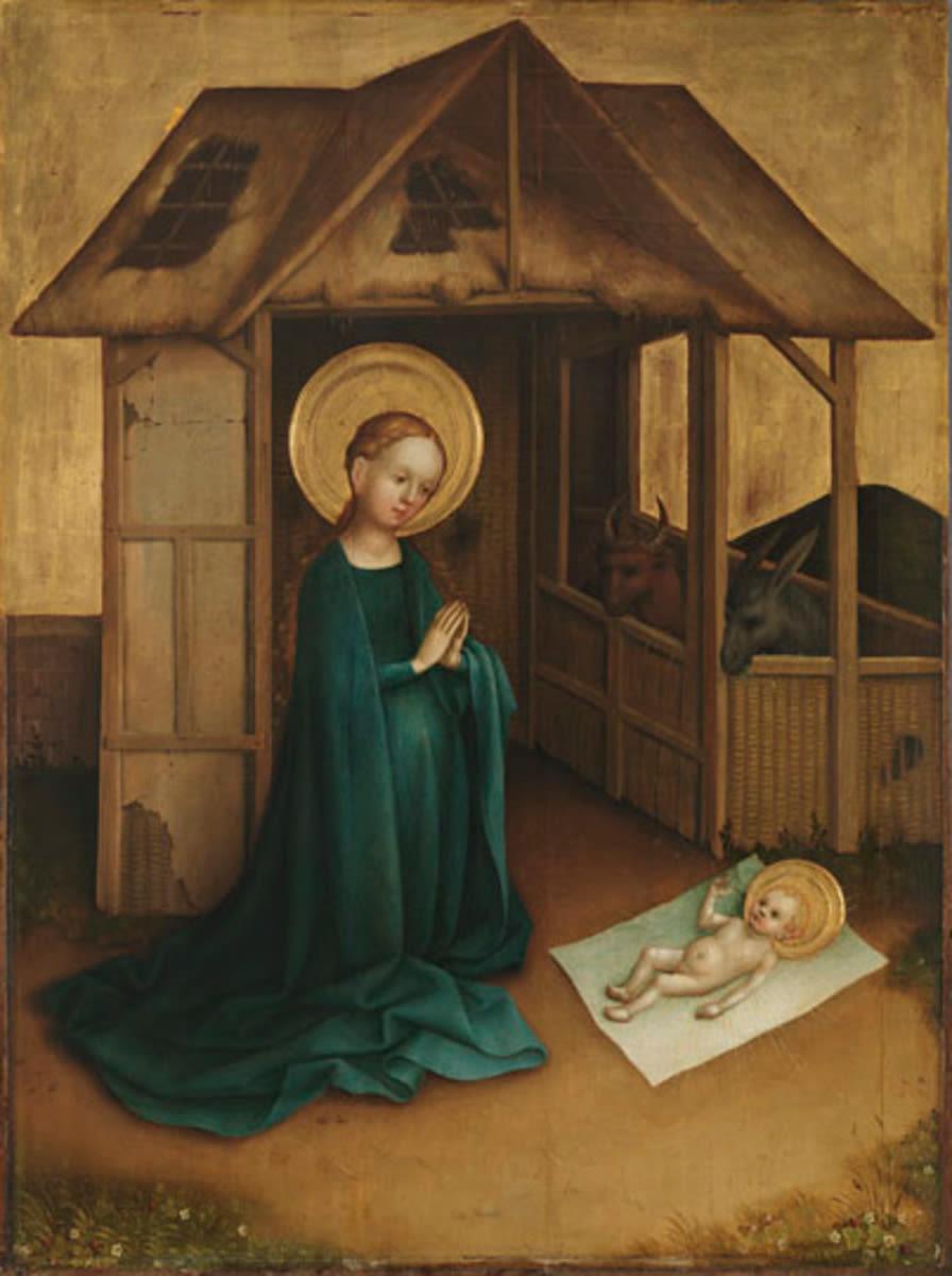 Heisterbacher Altar: Geburt Christi