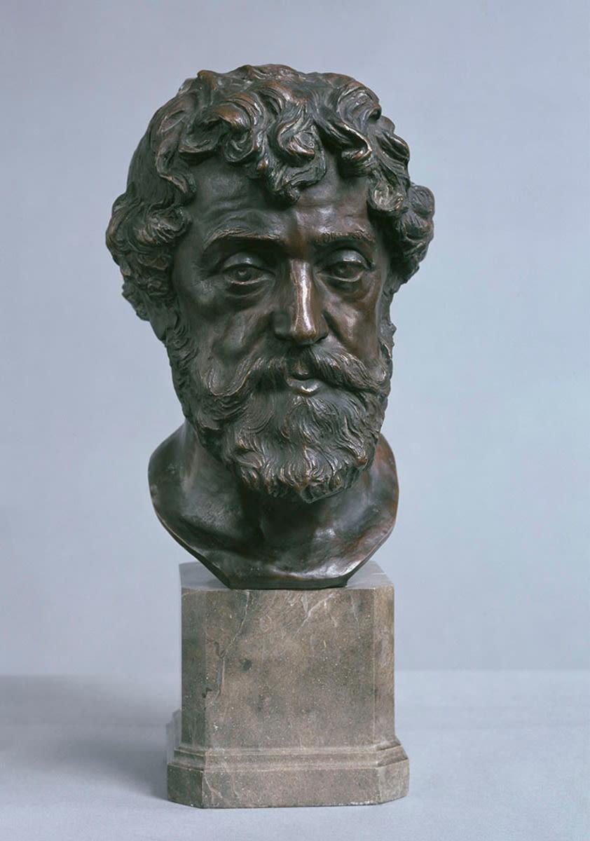 Der Bildhauer Josef Floßmann