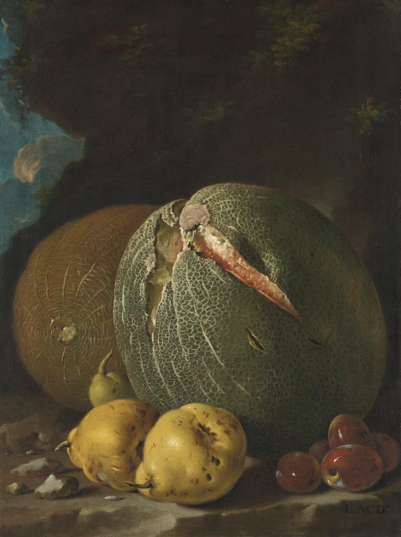 Melonen, Quitten und Pflaumen