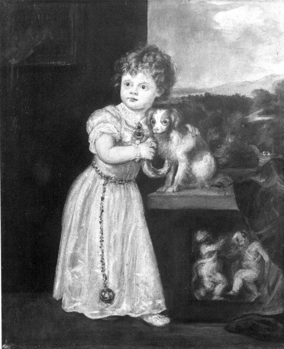Bildnis der Clarice Strozzi (nach Tizian)