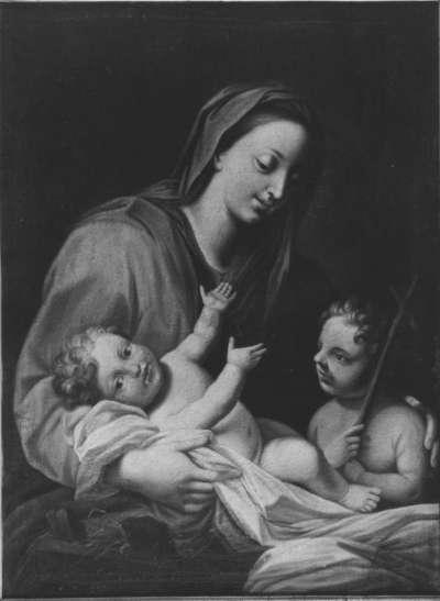 Maria mit Jesuskind und Johannesknaben