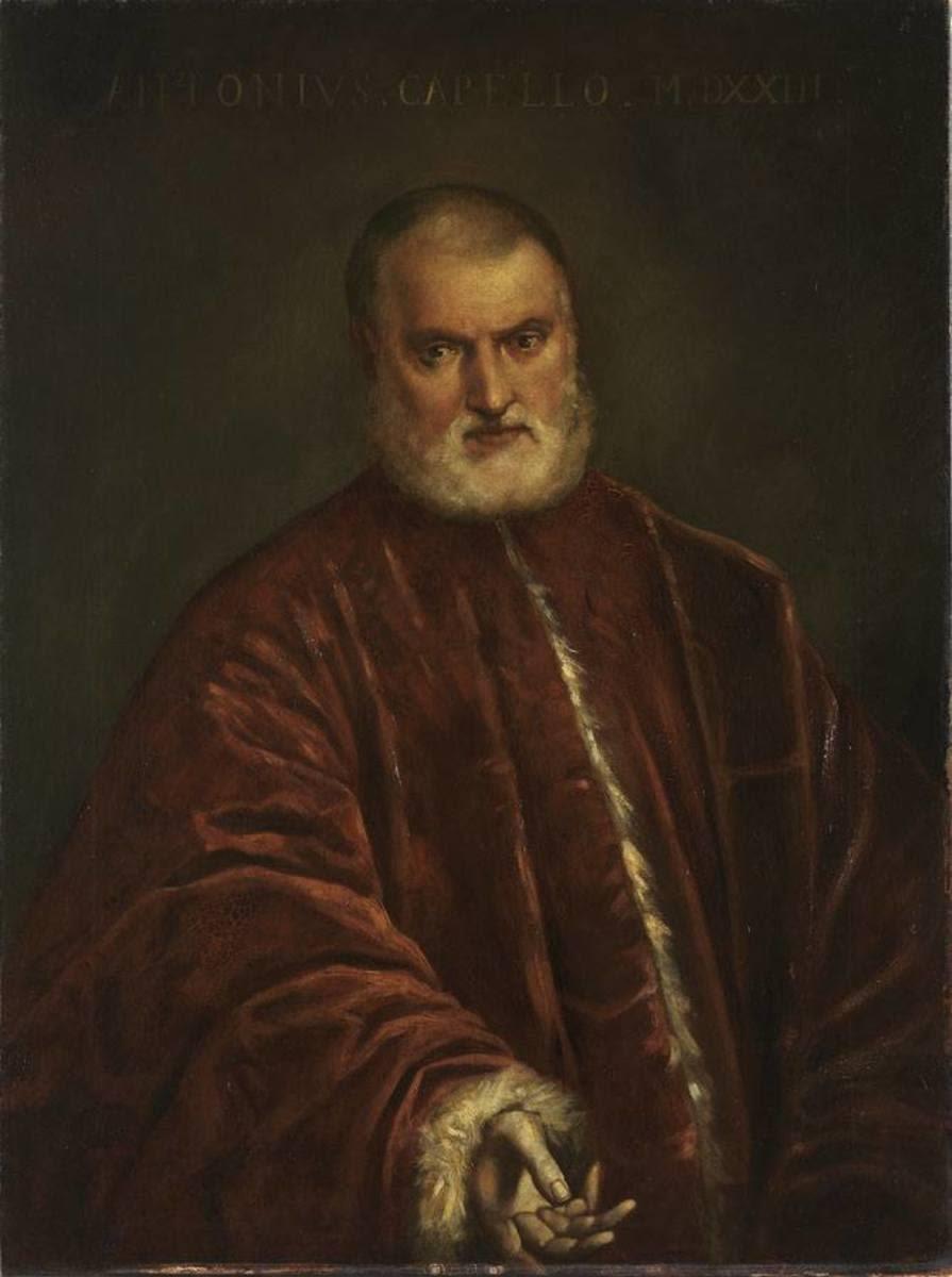Der Prokurator Antonio Cappello (nach Tintoretto)