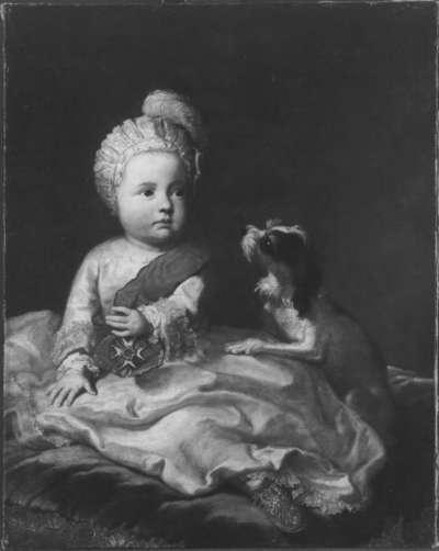 Kinderbildnis des Kurfürsten Max IV. Josef mit Band und Stern des Hubertusordens