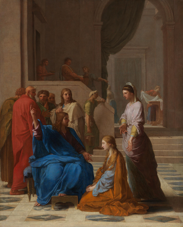 Christus im Hause der Martha