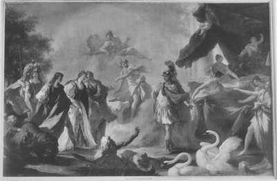 Beilager des Kurfürsten mit Maria Luisa