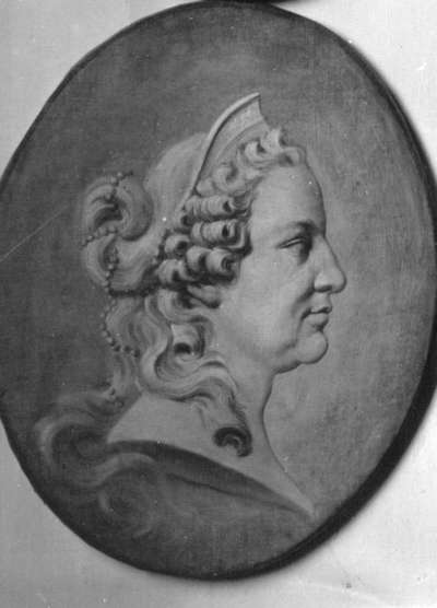 Bildnis der Kurfürstin Elisabeth Auguste von der Pfalz, Gemahlin des Kurfürsten Karl Theodor