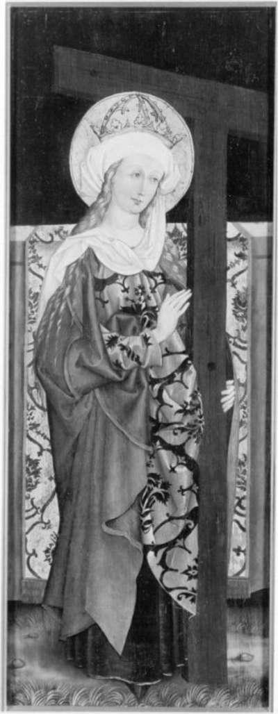 Die hl. Helena Rückseite: ehemals Relief