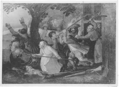 Szene aus dem Bauernkrieg