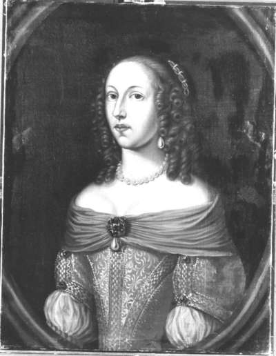 Bildnis der Landgräfin Magdalena Sibylla von Hessen-Darmstadt, Tochter des Landgrafen Georg II. (1631-51) (?)