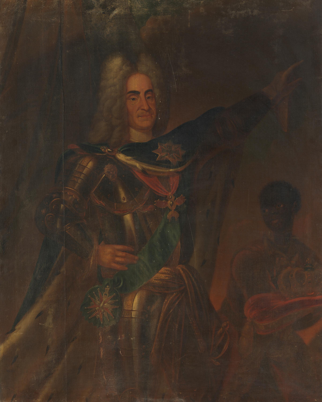 Bildnis des Kurfürsten Friedrich August der Starke von Sachsen