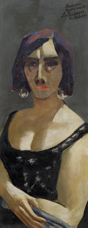 """Bildnis La Duchessa """"di Malvedi"""""""