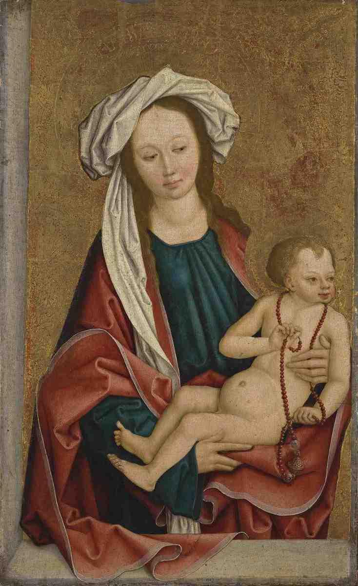 Funk-Diptychon: Maria mit dem Kind