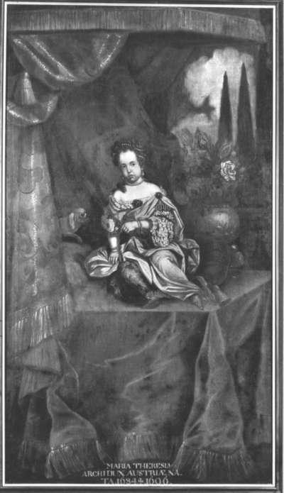 Erzherzogin Maria Theresia von Österreich, dreijährig