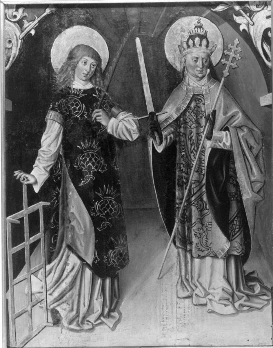 Die hll. Laurentius und Sixtus