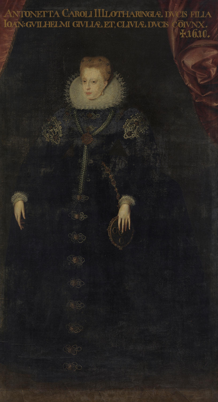 Antonie von Lothringen, Herzogin von Jülich, Cleve und Berg