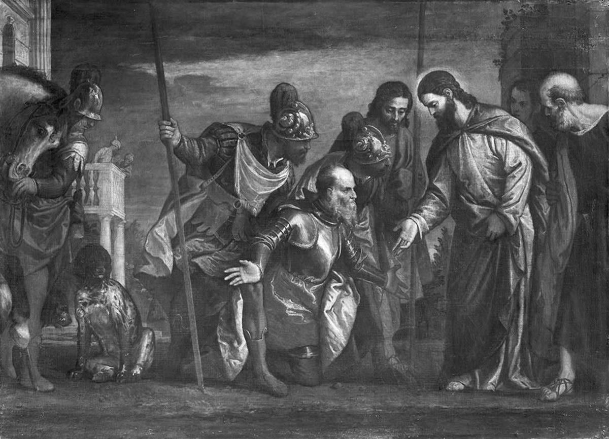 Christus und der Hauptmann von Kapernaum