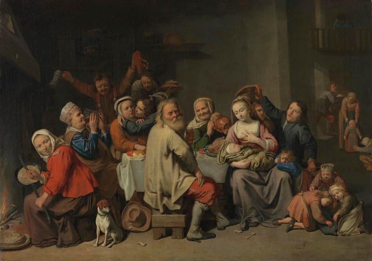 Das Bohnenkönigsfest