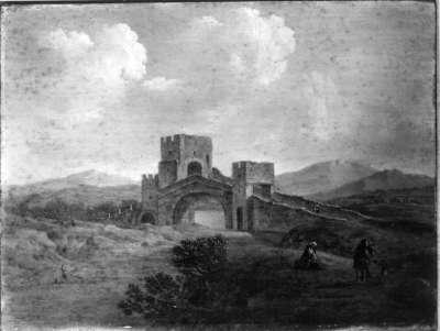 Der Ponte Salario über den Aniene bei Rom