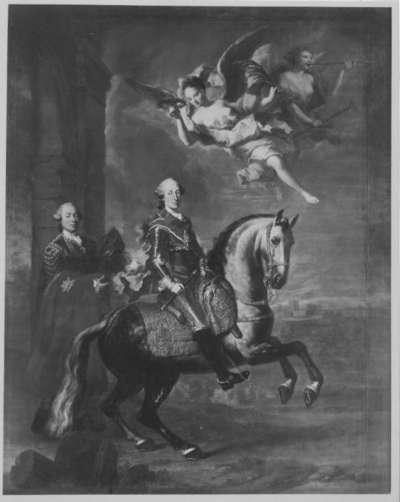Reiterbildnis des Kurfürsten Maximilian III. Joseph von Bayern