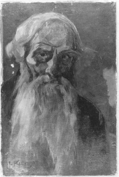 Bildnis eines alten, bärtigen Mannes