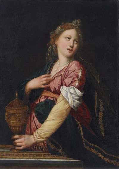 Die trauernde Artemisia