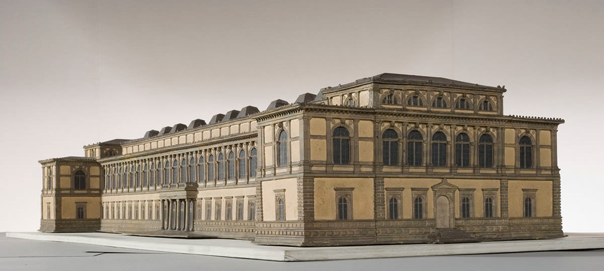 Modell der Alten Pinakothek