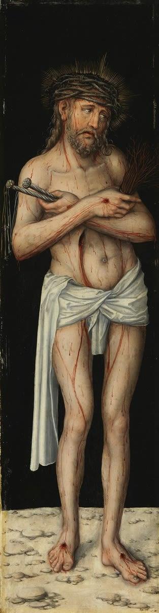 Kreuzigungstriptychon: Schmerzensmann