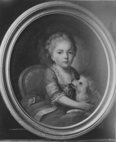 Kinderbildnis einer Prinzessin