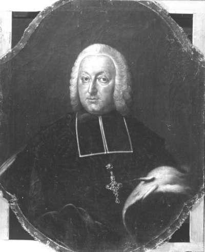 Bildnis des Johann Philipp Anton von und zu Frankenstein, Fürstbischof von Bamberg (1695-1753)