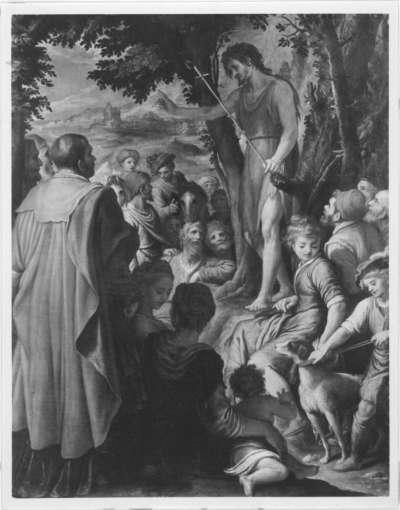 Johannes predigt in der Wüste