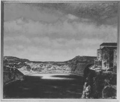 Italienische Landschaft (Römischer Spätsommer)