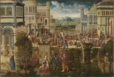 Historienzyklus: Geschichte der Susanna
