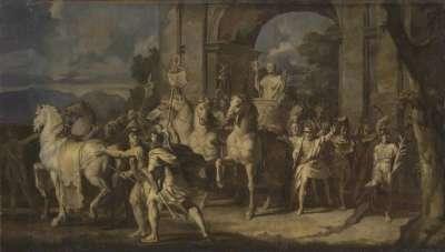 Triumphzug Alexanders des Großen: Alexander der Große als Triumphator (Folge 12/12)