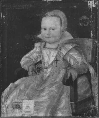 Kinderbildnis der Maria Renata, Tochter des Albrecht VI. der Leuchtenberger
