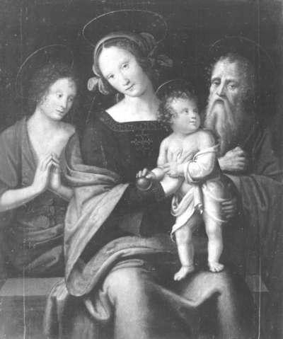 Maria mit Kind mit den hll. Johannes der Täufer und Hieronymus